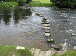 Taken from http://upload.wikimedia.org/wikipedia/en/f/f2/Stepping_stones,_Hebden,_bench.jpg